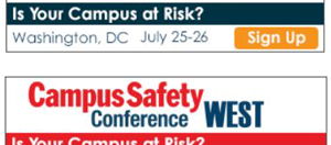 Are You Attending the Campus Safety Conference?