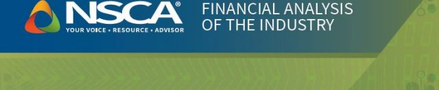 NSCA Reports on Findings in New 'Financial Analysis of the Industry'